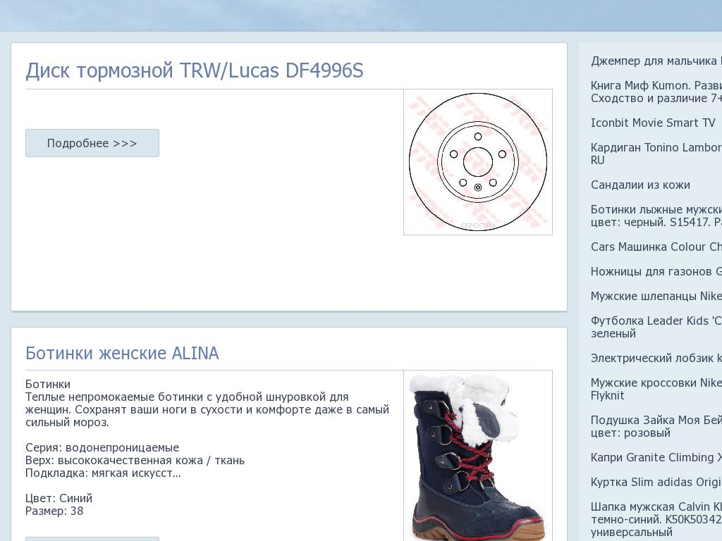 Скриншот интернет-магазина 220kamin.ru