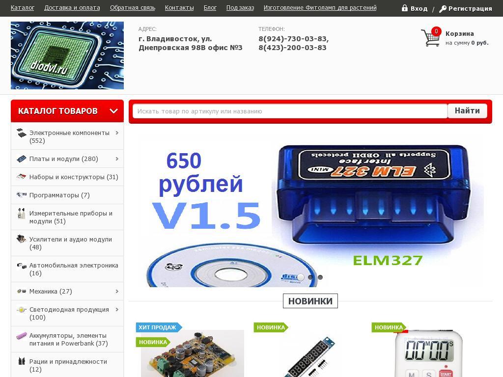 отзывы о Diodvl.ru
