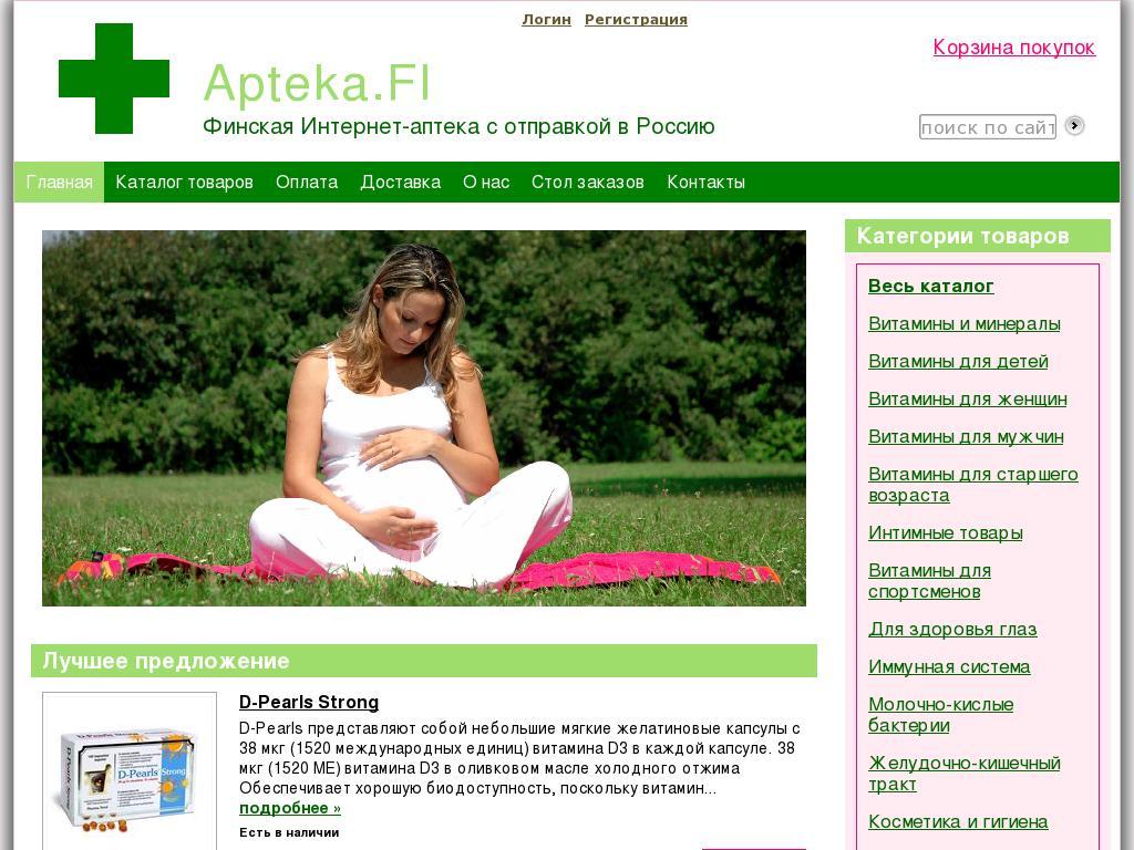 логотип apteka.fi