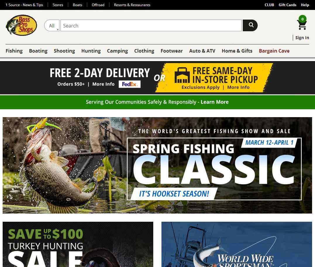 логотип basspro.com