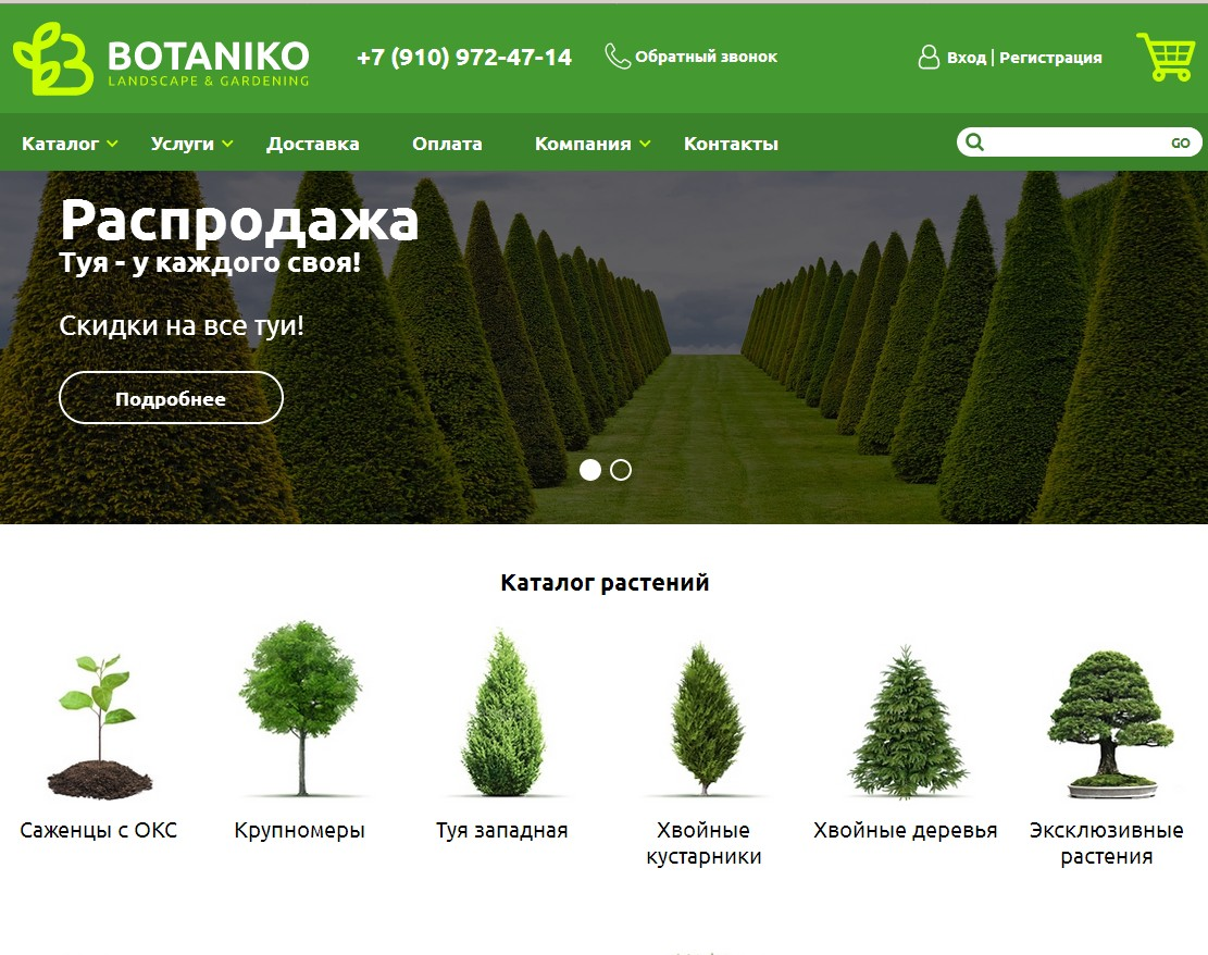 логотип botanikoshop.ru