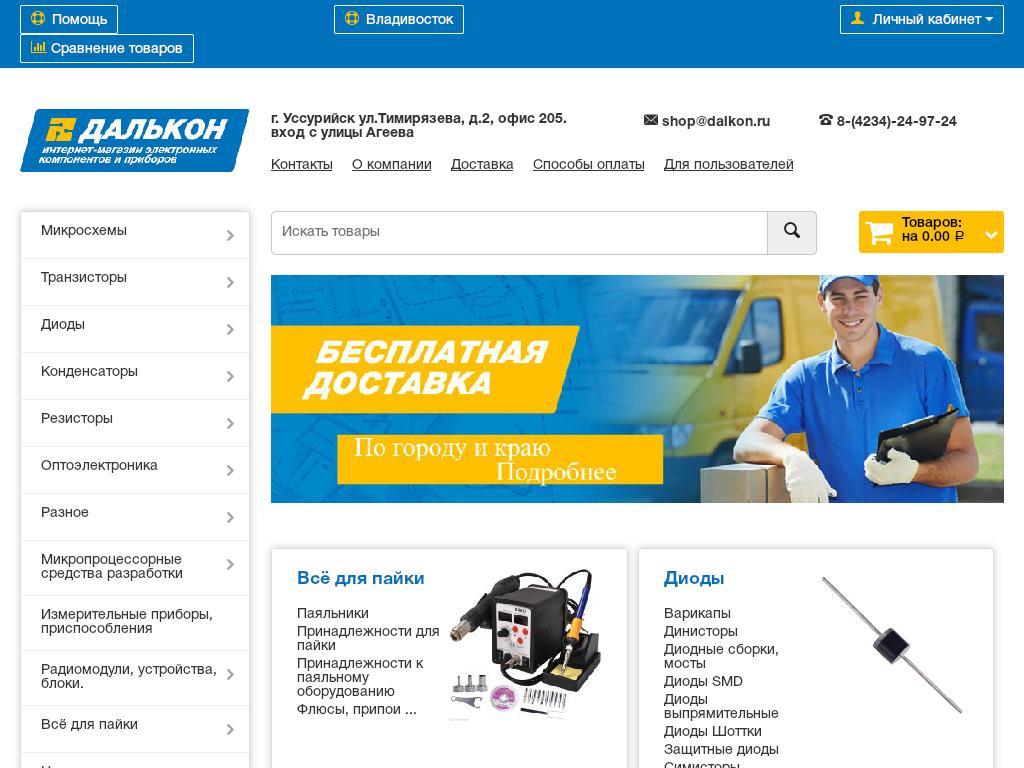 отзывы о dalkon.ru