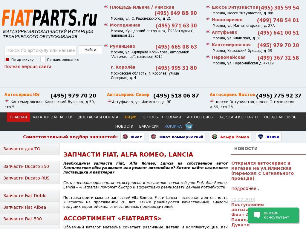 логотип fiatparts.ru
