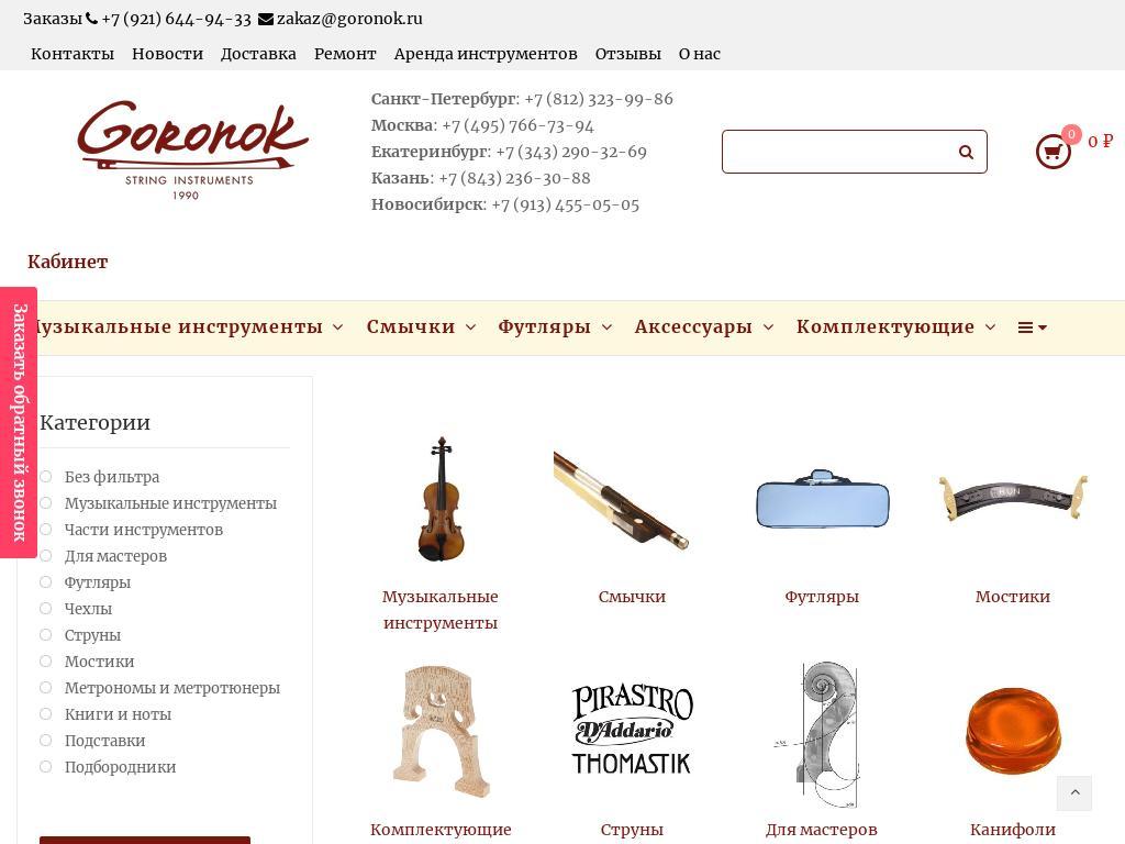 логотип goronok.ru