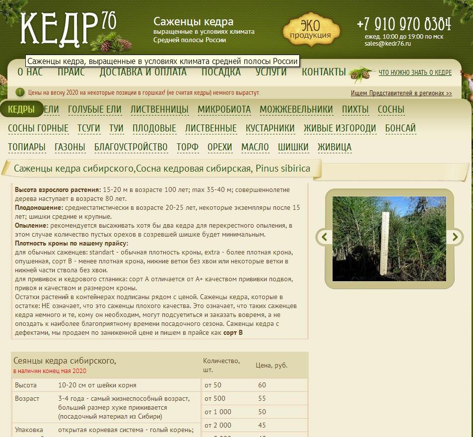 логотип kedr76.ru