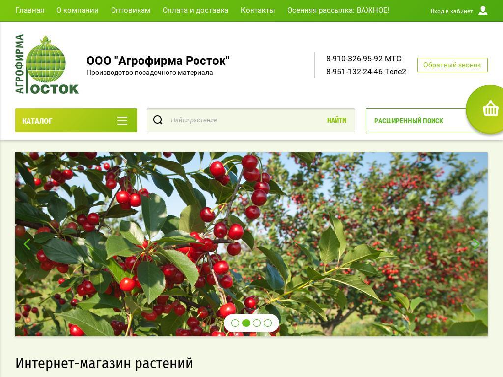 логотип rostok-sad.ru