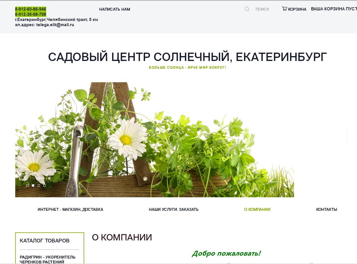 логотип sunnysad.ru