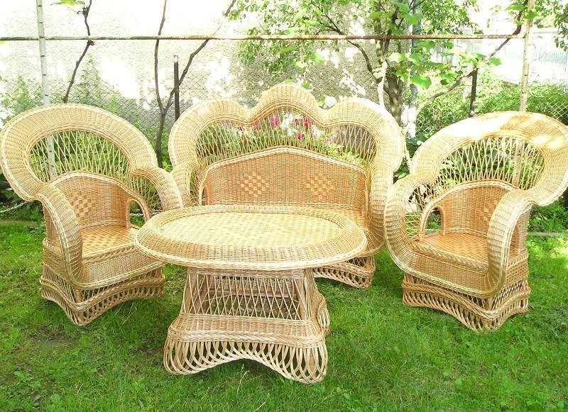Изысканность плетеной мебели из ротанга