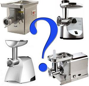 Что правильно выбрать мясорубку или кухонный комбайн?