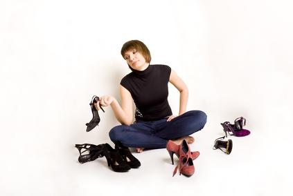 Покупаем женские туфли