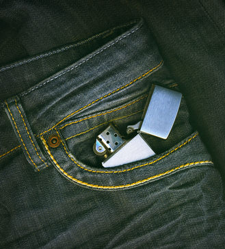 Зажигалка - оригинальный аксессуар для стильного мужчины