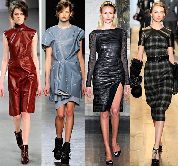Модная женская одежда в сезоне осень – зима 2012–2013