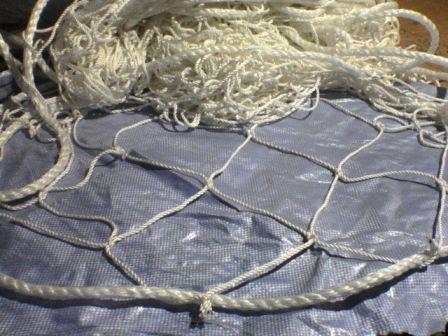 Способы посадки рыболовной сети