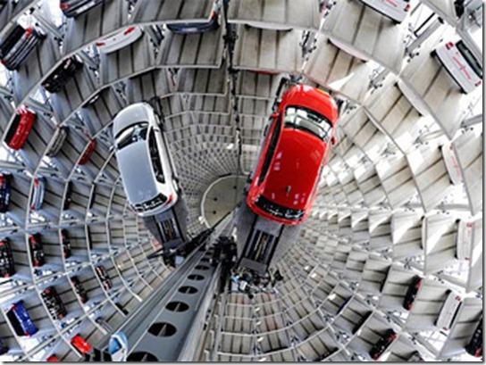 Устройство систем автоматизированных парковок