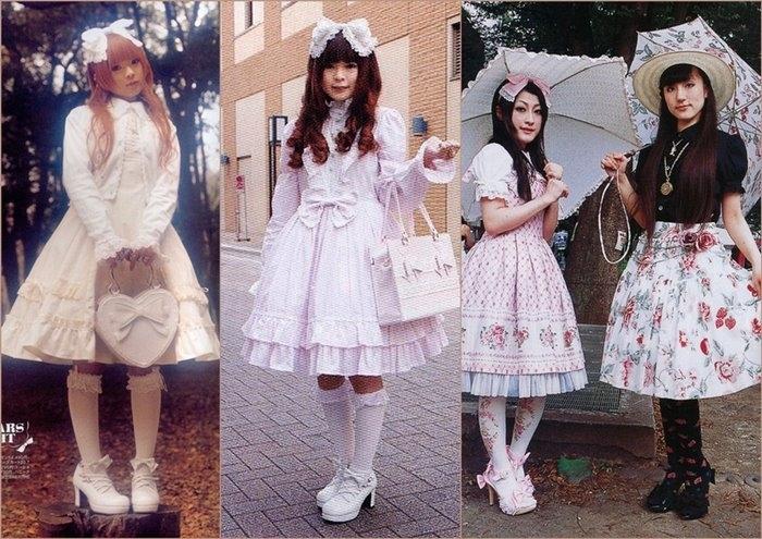 Стиль Лолита - необычный кукольный образ