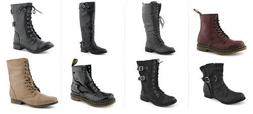 обувь милитари
