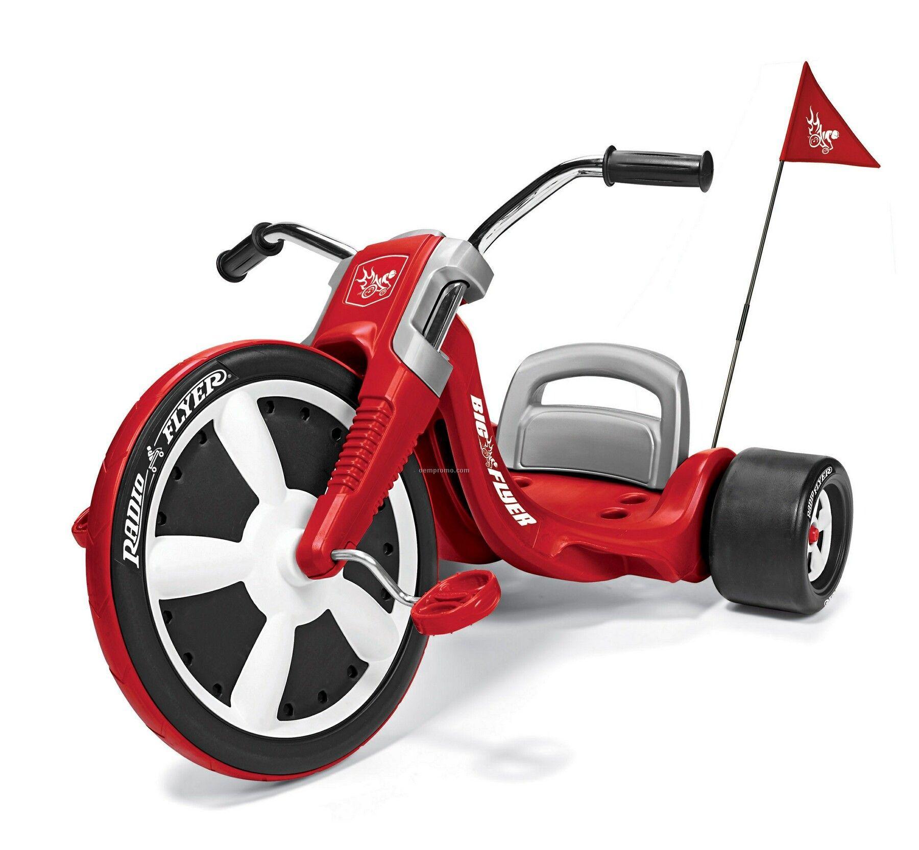 Трехколесный велосипед Radio Flyer - удовольствие для ребенка