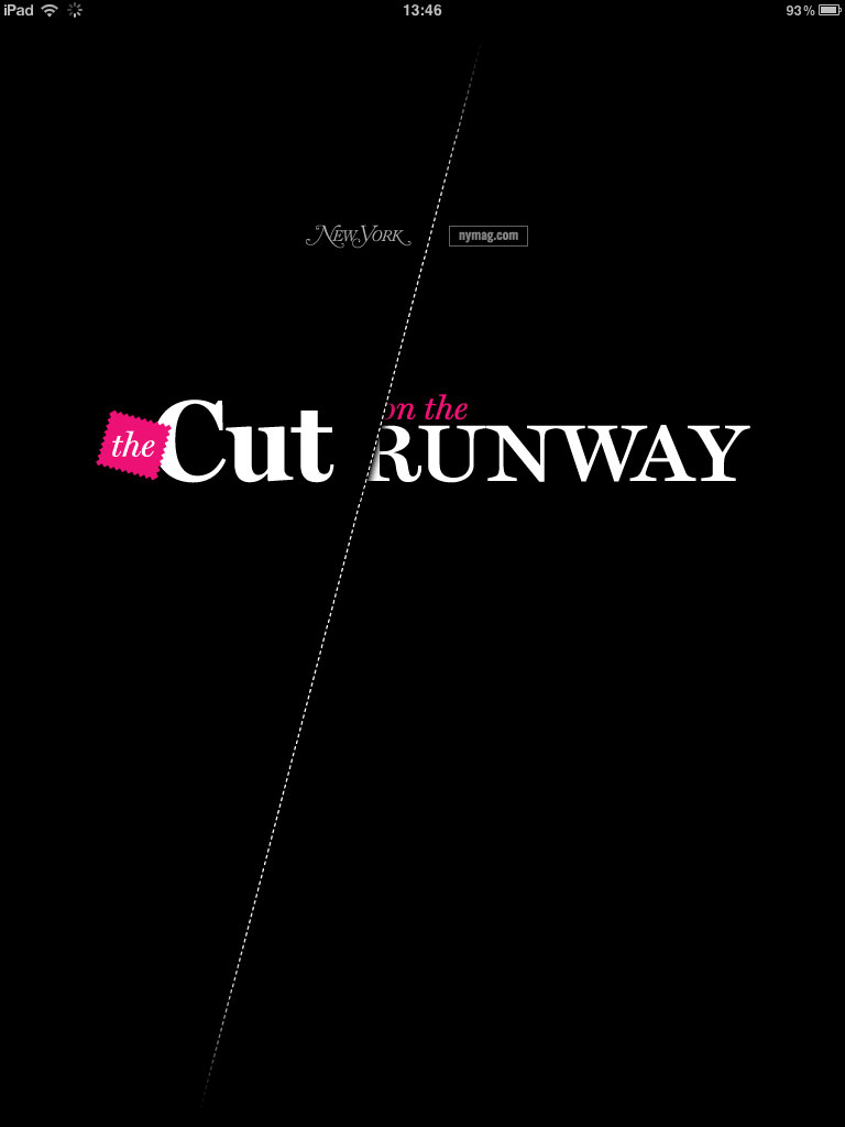 The Cut on the Runway