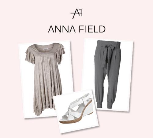 логотип бренда Anna Field