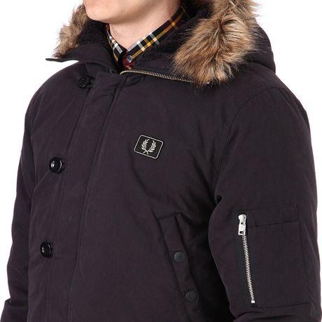 куртка парка fred perry