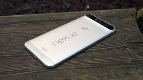 задняя панель Nexus 6P