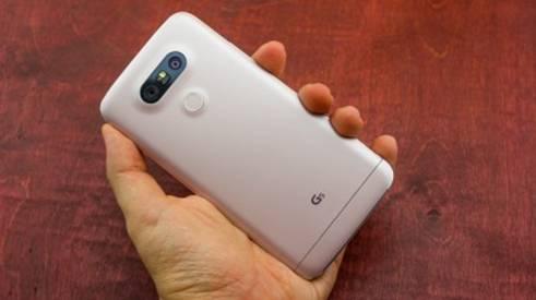 задняя часть LG G5