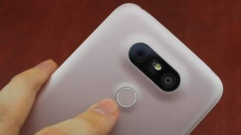 клавиша Power в LG G5