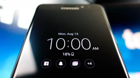 Samsung Galaxy S8 виджеты