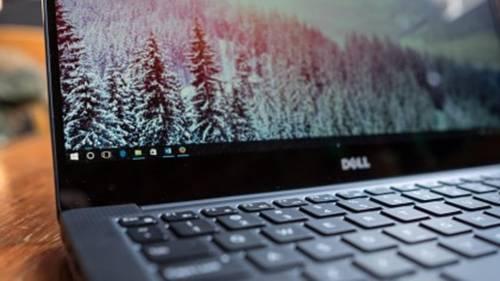 яркость Dell XPS 13