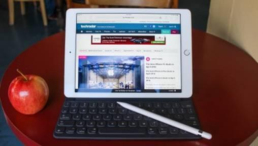 белый iPad Pro